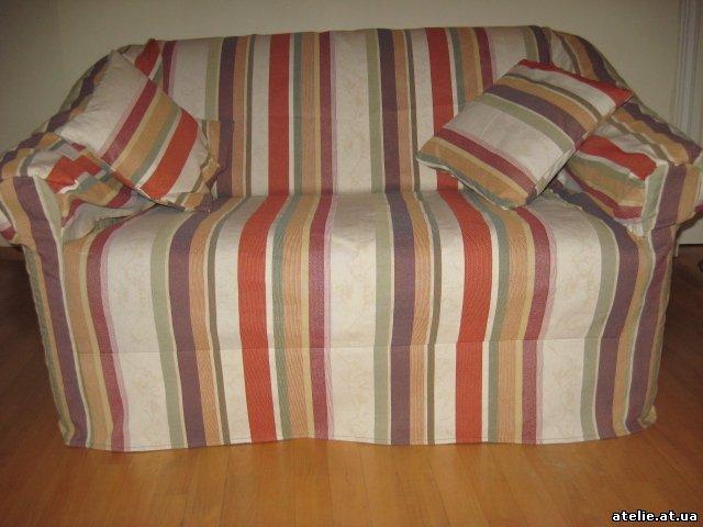 Как сшить чехлы на диван на резинке своими руками